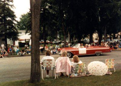 1987 EL centennial parade